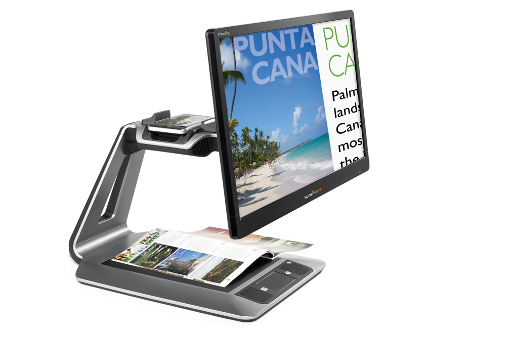 Prodigi Duo 2 in 1 electronic magnifier 20 in