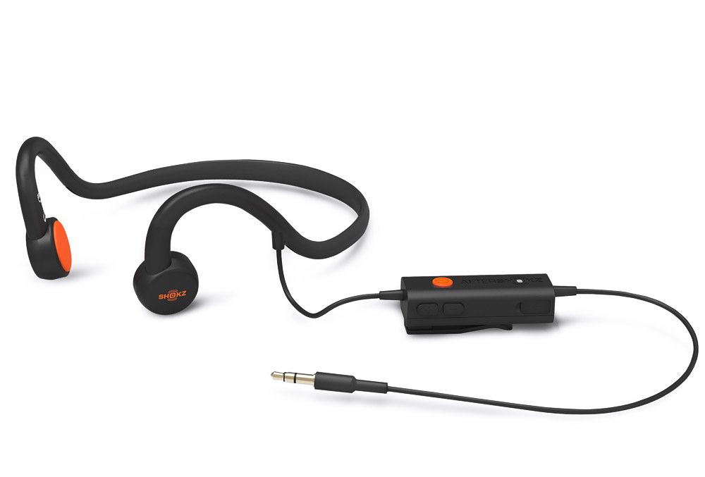 AfterShokz Sportz M3 headphones with microphone