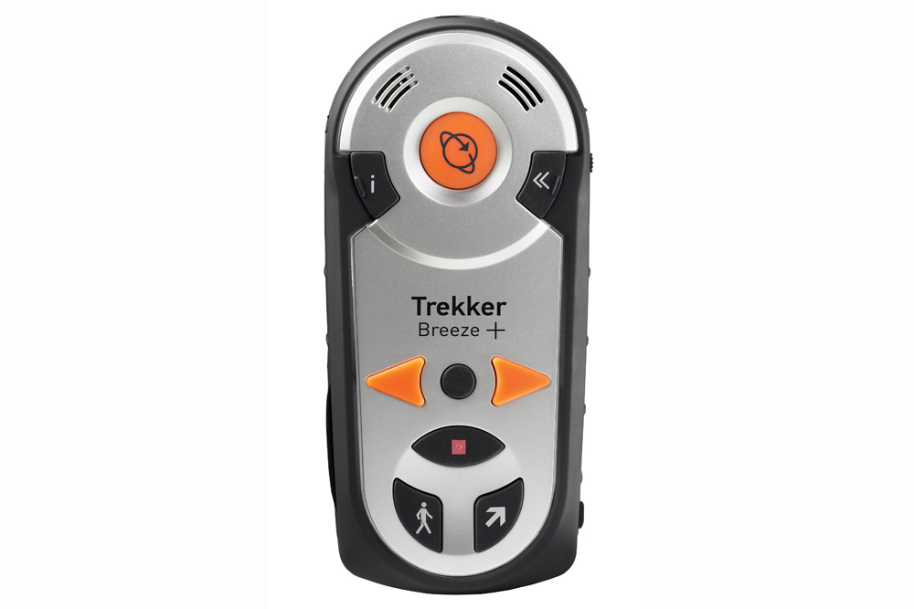 Trekker Breeze+ handheld talking GPS