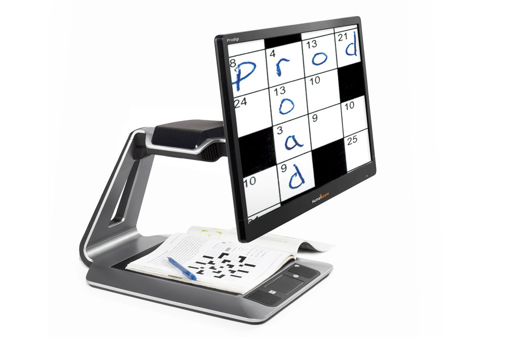 Prodigi Desktop electronic magnifier 20 in