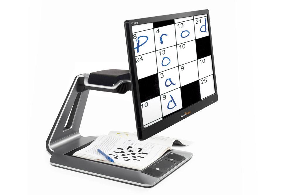 Prodigi Desktop electronic magnifier 24 in