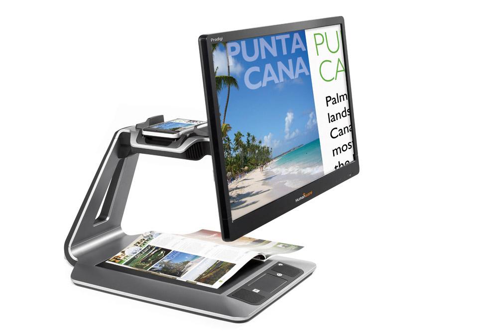 Prodigi Duo 2 in 1 electronic magnifier 24 in