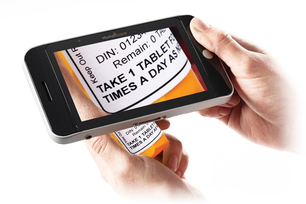 Prodigi Tablet agrandisseur électronique de poche