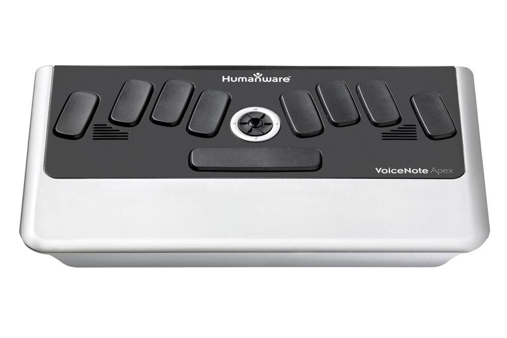VoiceNote Apex BT braille notetaker