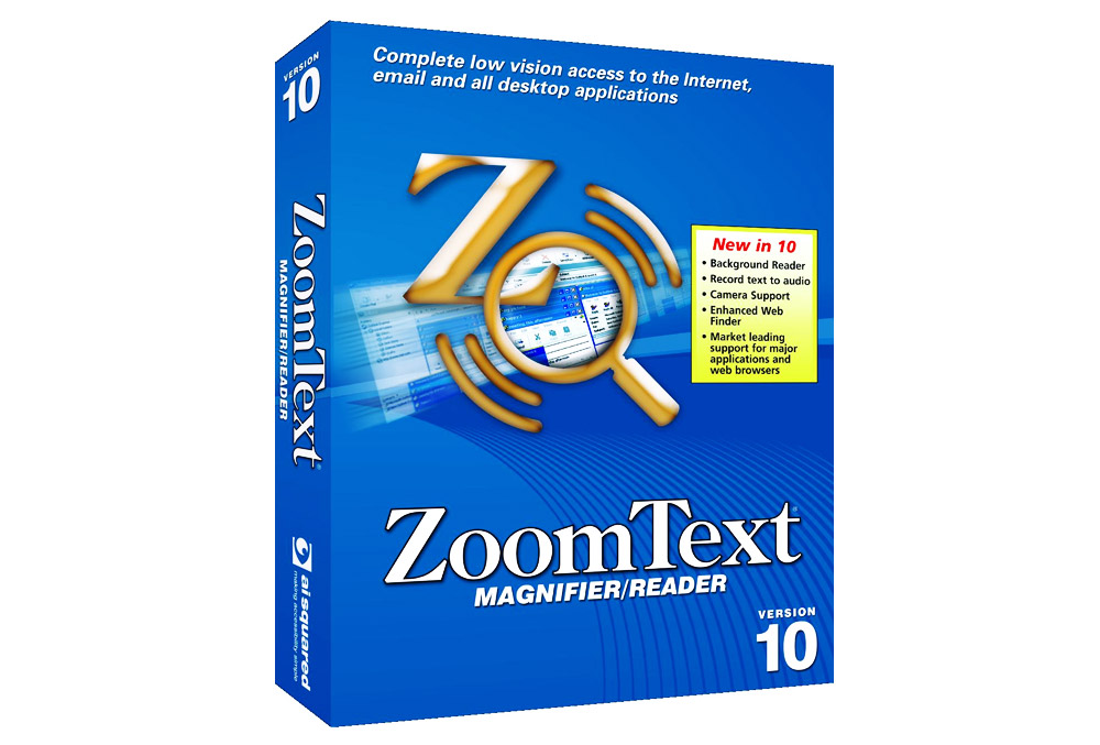 ZoomText Magnifier / Screen Reader