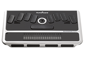 BrailleNote Apex BT 18 Braille Notetaker