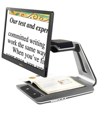 Image of the Prodigi Desktop electronic magnifier 24